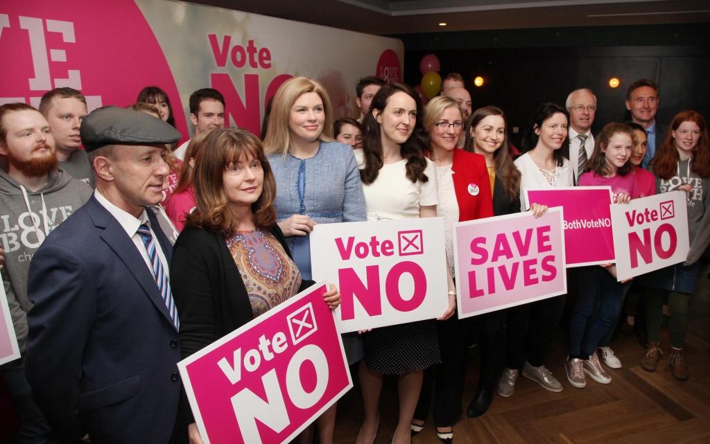 LoveBothVoteNO campaign anti-abortion