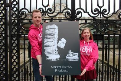 Minister Harris tweets